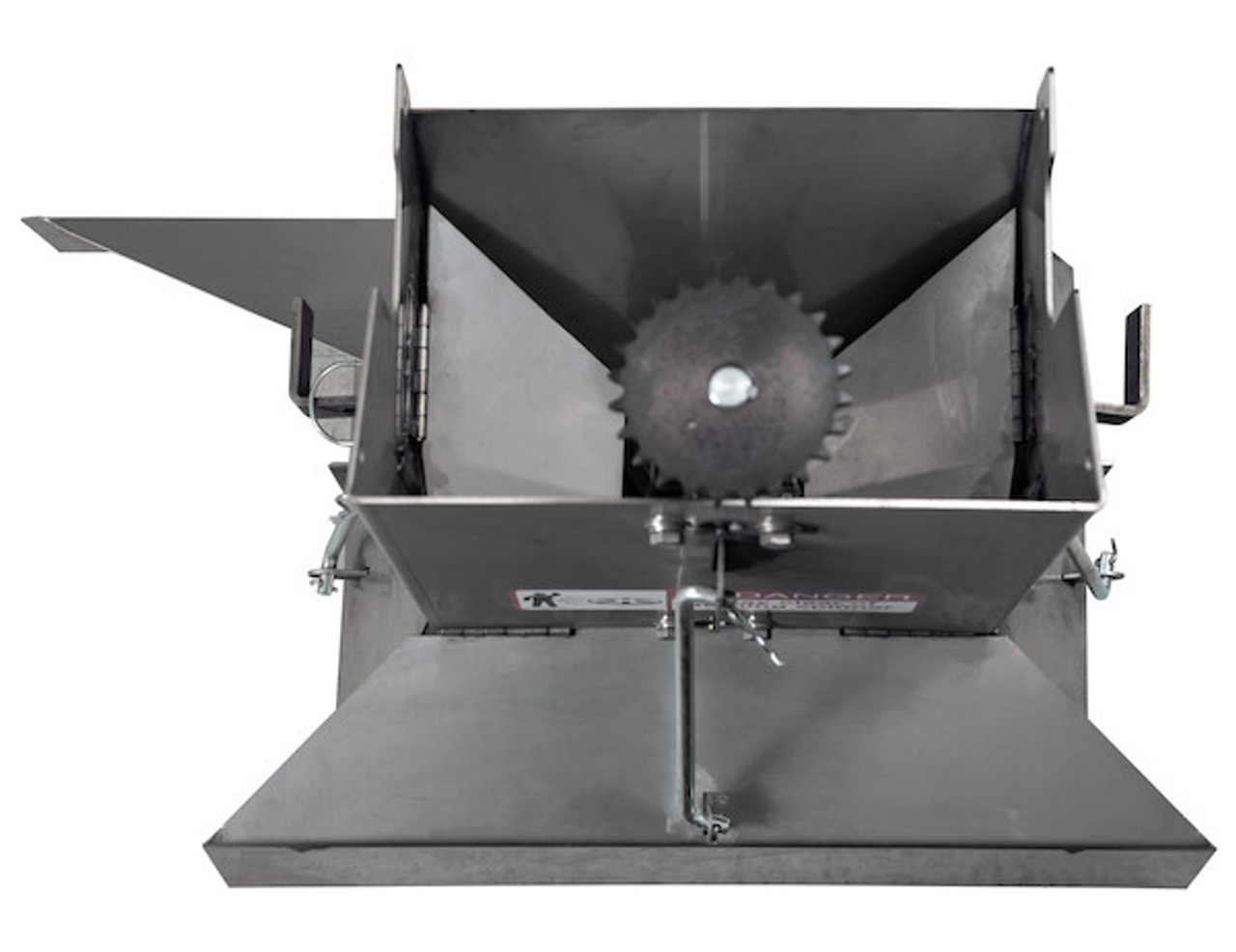 142005ASS BUYERS SALTDOGG STANDARD Spreader Chute 6 Paris Supply ParisSupply