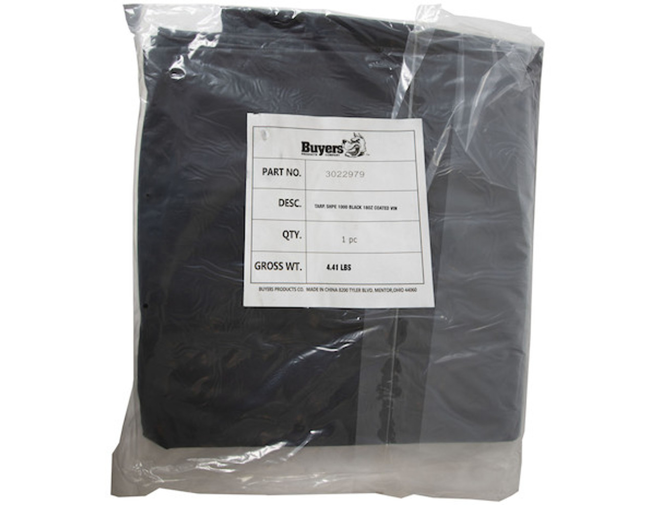 3022979 BUYERS SALTDOGG VINYL TARP for SHPE1000