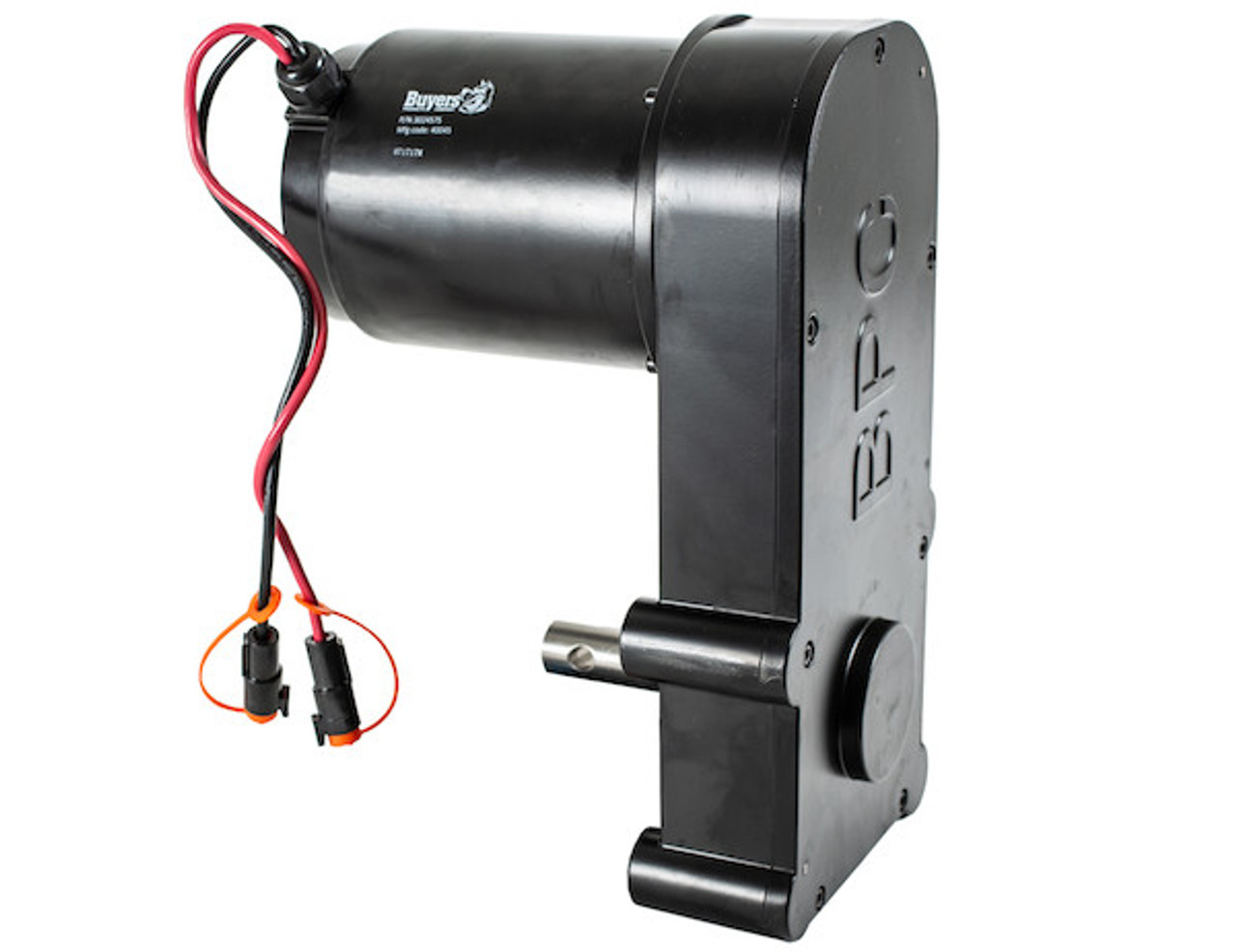 BUYERS 3024575 Replacement 12VDC .75 HP Auger Gear Motor For SaltDogg PRO And 1400 Series Spreaders 1