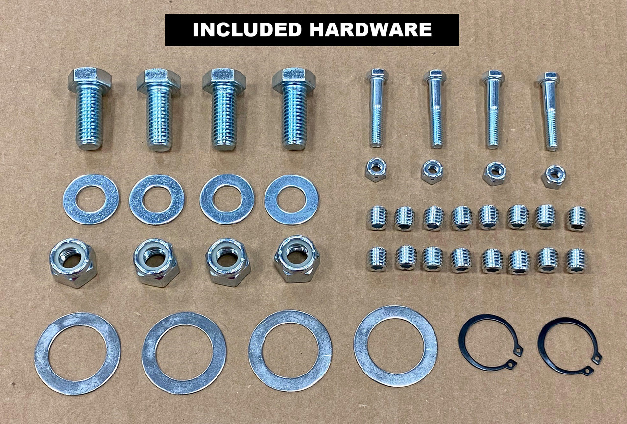 """""""ARMS ONLY"""" 4 SPRING POLISHED ALUMINUM for 8'-23' Dump Truck Tarp Kit"""