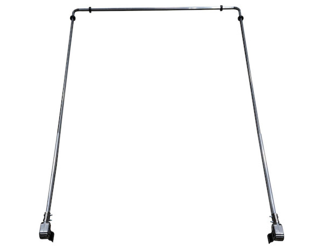 ARMS ONLY 5 SPRING POLISHED ALUMINUM 14'-23' Dump Truck Tarp Kit