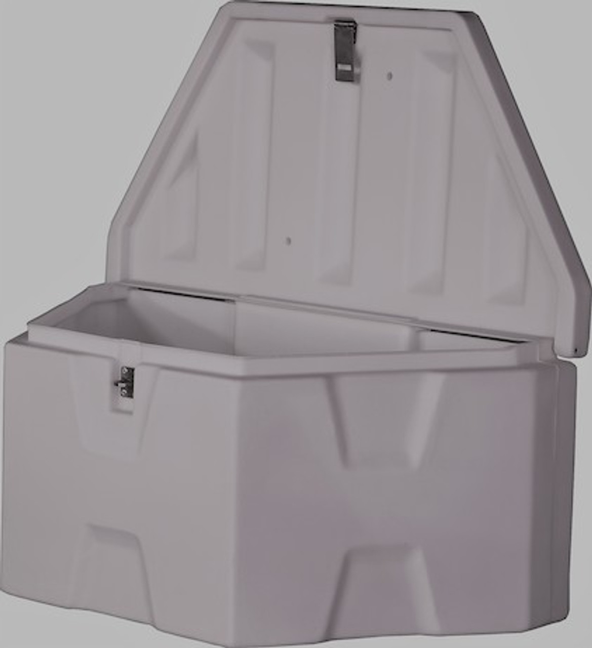 """1701679 BUYERS PRODUCTS WHITE POLY TRAILER TONGUE TRUCK TOOLBOX 18""""HX19""""DX36""""W"""
