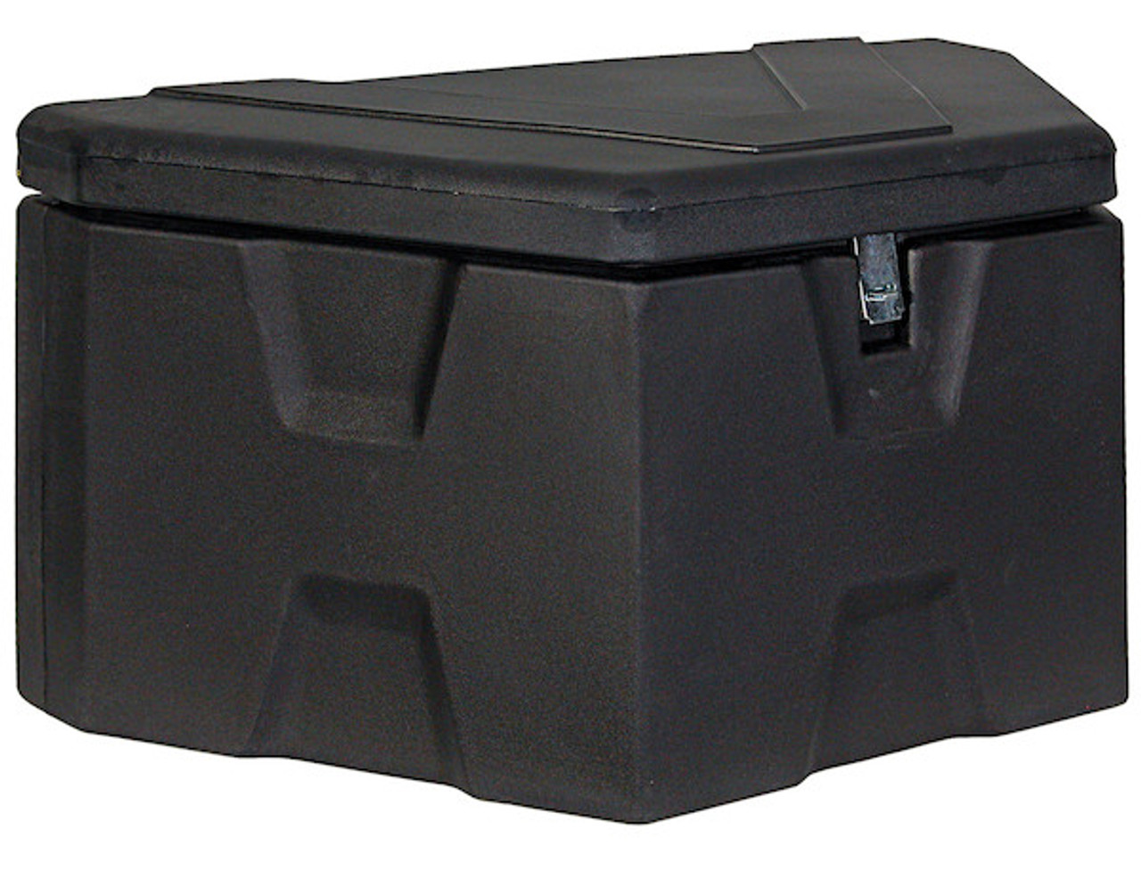 """1701680 BUYERS PRODUCTS BLACK POLY TRAILER TONGUE TRUCK TOOLBOX 18""""HX19""""DX36""""W"""