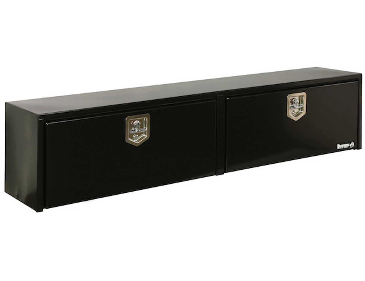 1702950 BUYERS PRODUCTS BLACK STEEL TOPSIDER TRUCK BOX TOOLBOX