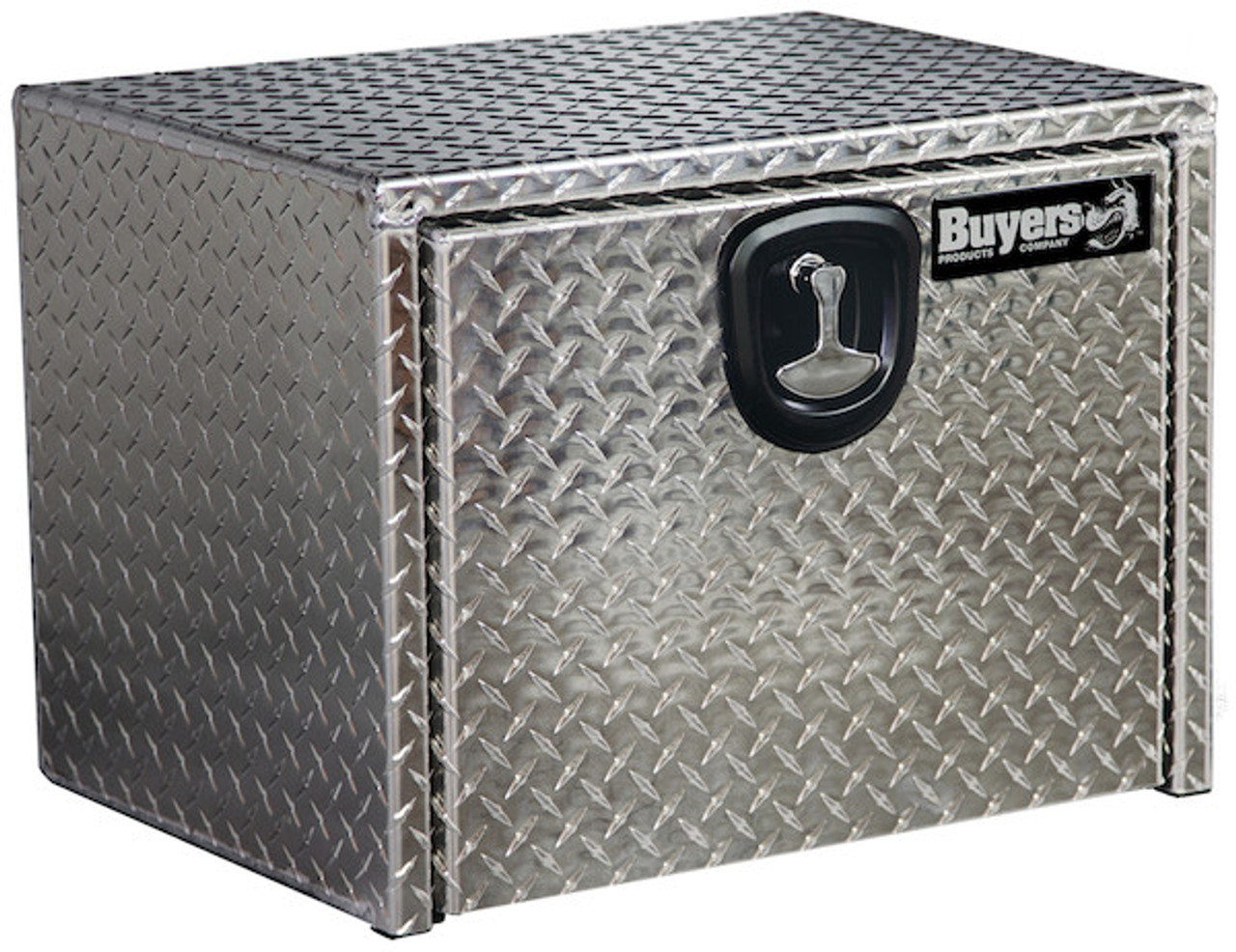 "1705100 BUYERS PRODUCTS DIAMOND TREAD ALUMINUM UNDERBODY TRUCK TOOLBOX 18""HX18""DX24""W"