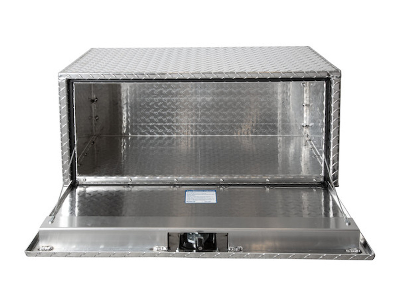 "1705101 BUYERS PRODUCTS DIAMOND TREAD ALUMINUM UNDERBODY TRUCK TOOLBOX 18""HX18""DX18""W"
