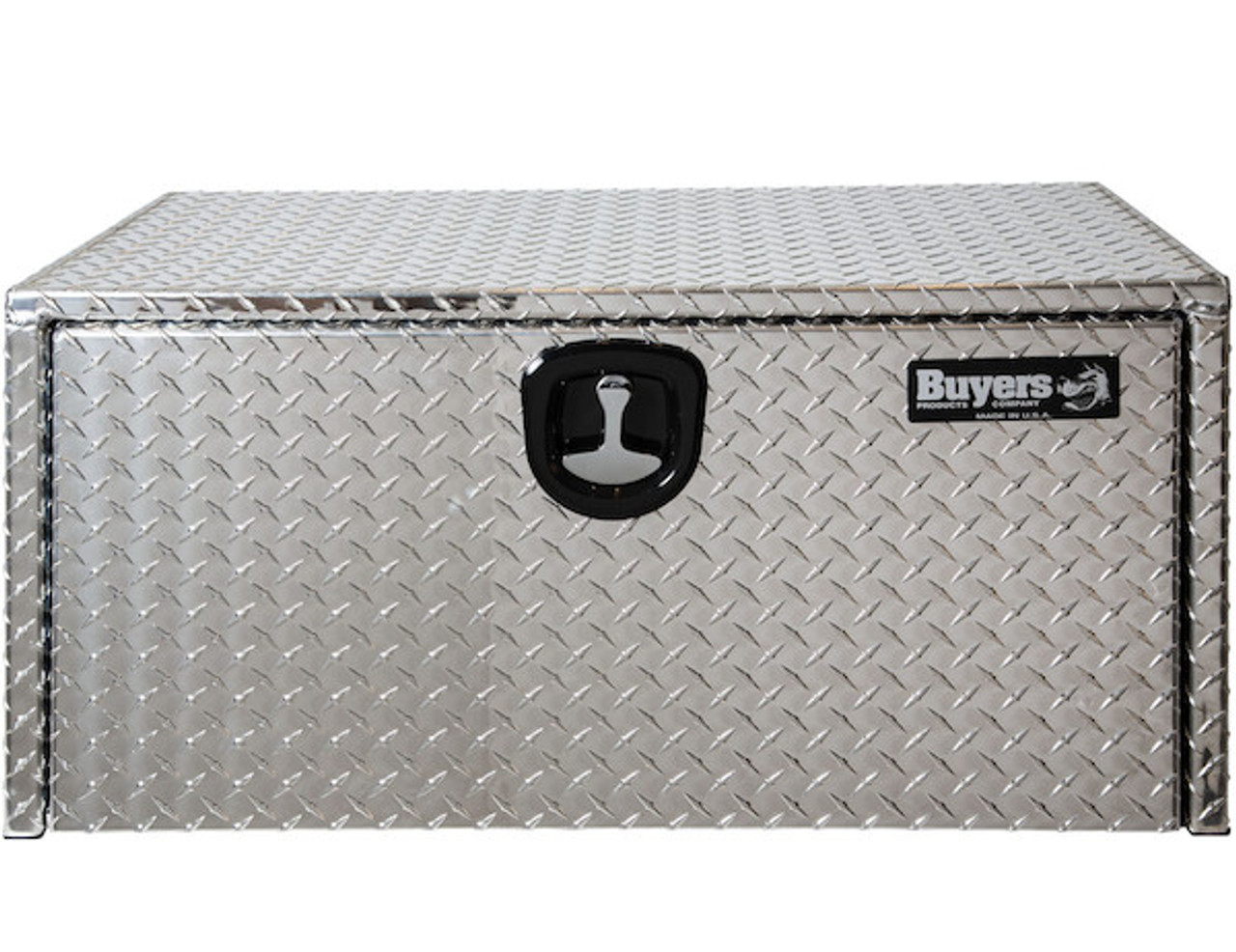 "1705118 BUYERS PRODUCTS DIAMOND TREAD ALUMINUM UNDERBODY TRUCK TOOLBOX 20""HX20""DX36""W"