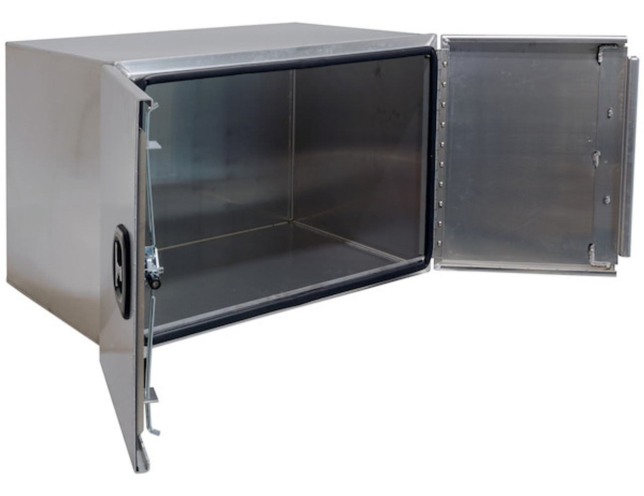 """1705420 BUYERS PRODUCTS XD SMOOTH ALUMINUM UNDERBODY TOOLBOX WITH BARN DOOR 18""""HX24""""DX36""""W"""