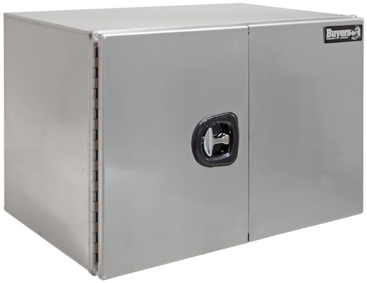 "1705440 BUYERS PRODUCTS XD SMOOTH ALUMINUM UNDERBODY TOOLBOX WITH BARN DOOR 24""HX24""DX48""W"