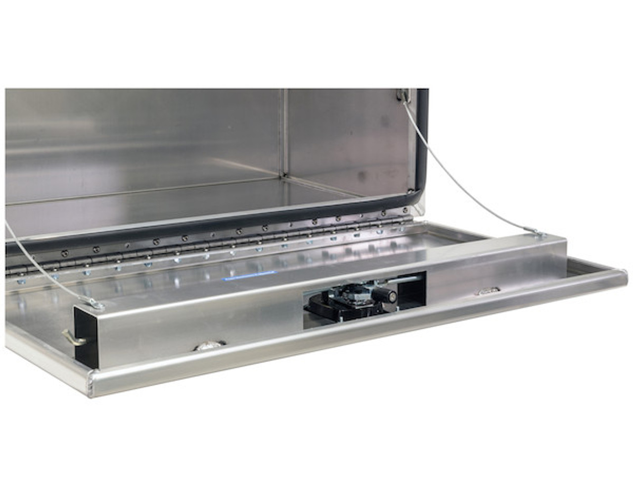"""1706430 BUYERS PRODUCTS XD SMOOTH ALUMINUM UNDERBODY TRUCK TOOLBOX 18""""HX24""""DX60""""W"""