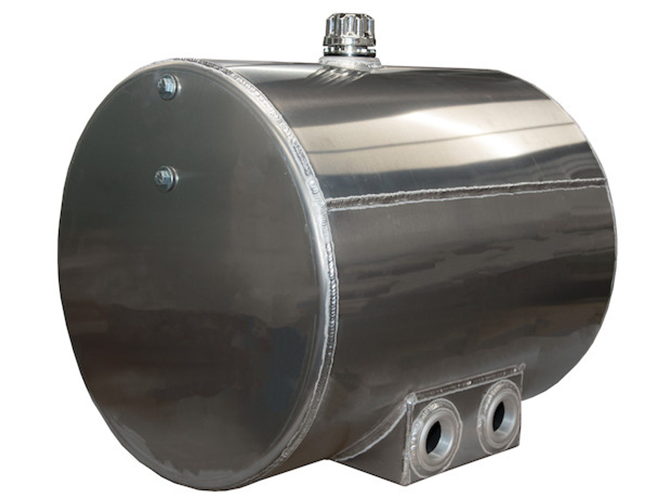 BUYERS SMC50AR 50 Gallon Side Mount Aluminum Reservoir with Rear Ports