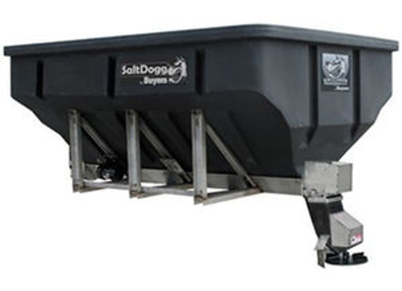 SHPE4000 BUYERS SALTDOGG ELECTRIC POLY HOPPER SPREADER WITH AUGER SALT PARIS SUPPLY PARISSUPPLY