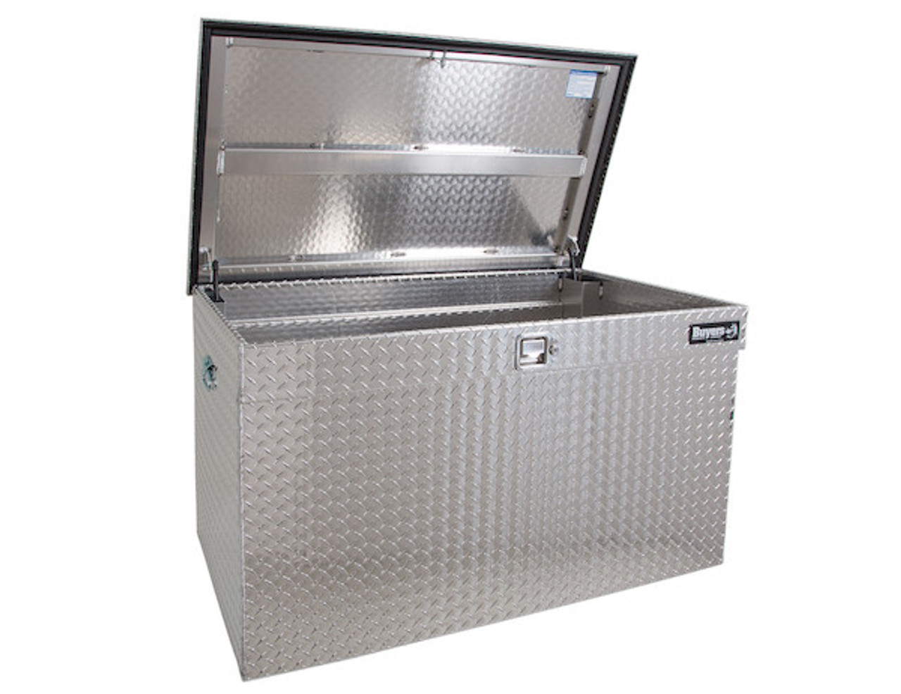 1712110 BUYERS DIAMOND TREAD ALUMINUM ALL-PURPOSE JUMBO CHEST TOOLBOX
