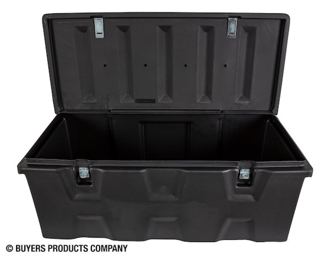 1712240 BUYERS BLACK POLY ALL-PURPOSE CHEST TOOLBOX