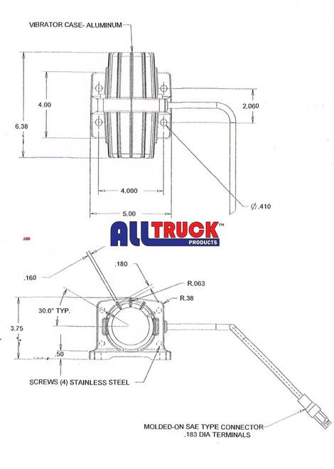 ALL TRUCK PRODUCTS ATPVB200 VIBRATOR 6