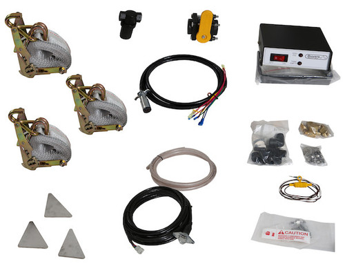 LS5 Buyers SaltDogg 12 VDC Pre-Wet Kit With Two 105-Gallon Wedge Poly V-Box Mount Reservoir Picture # 2