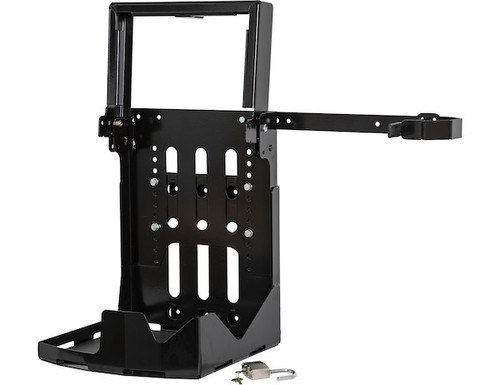 Buyers LT24 Adjustable Backpack Blower Rack For Open And Enclosed Landscape Trailers Picture # 2