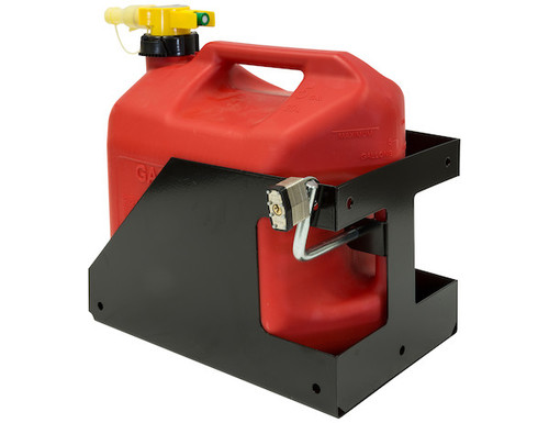Buyers LT32 Locking Gas Container Rack For Landscaping Trailers, Garages, Sheds, Construction Vehicles Picture # 2