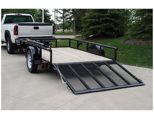 Buyers 5201000 EZ Gate䋢 Tailgate Assist for Landscaping Trailers and Open Style Trailers Picture # 2