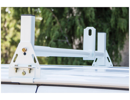 BUYERS 1501311 Optional White Crossbar For Van Ladder Rack-1501310 Picture # 2 SOLD SEPARATELY