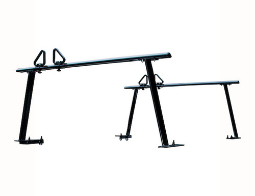 BUYERS 1501680 Black Aluminum Truck Rack for Contractors, Construction, Electricians Picture # 2
