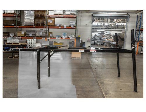 BUYERS 3037294 9-10 Foot Mid-Size Black Powder-Coated Spreader Stand for SaltDogg Spreader 2