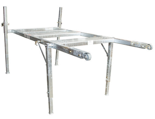 BUYERS 3037295 9-10 Foot Mid-Size Hot-Dipped Galvanized Spreader Stand for SaltDogg Spreader 2