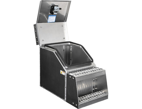 1705285 BUYERS PRODUCTS WideOpen™ Class 8 Step Tool Box For Semi Trucks - 16 Inch Width 2