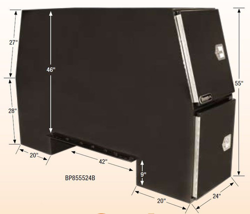 BACKPACK TRUCK BOX DIMENSIONS