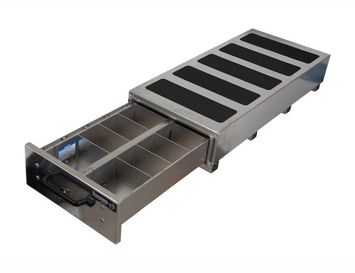 1718010 Buyers SMOOTH ALUMINUM SLIDE OUT TRUCK BED TOOLBOX