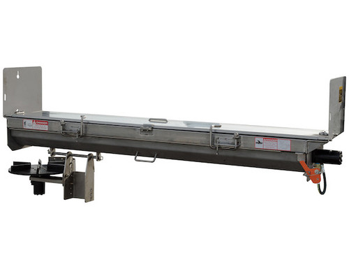 92426SSA BUYERS SALTDOGG HYDRAULIC UNDER TAILGATE SPREADER WITH EXTENDED END PLATES, DRIVER SIDE DISCHARGE