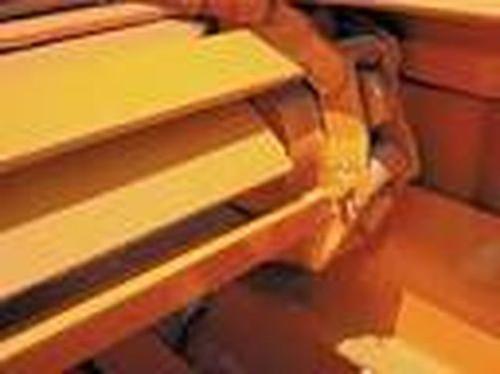 1459114 BUYERS SALTDOGG WESTERN Salt Spreader Hopper Conveyor Drag Chain OEM 94898