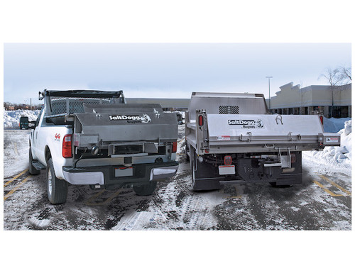 9035100 BUYERS SALTDOGG ELECTRIC REPLACEMENT TAILGATE SALT SPREADER WITH CENTER DISCHARGE