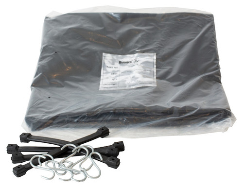 1491501 SALT SPREADER VINYL TARP AND STRAPS
