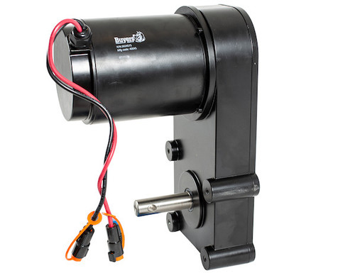 BUYERS 3024575 Replacement 12VDC .75 HP Auger Gear Motor For SaltDogg PRO And 1400 Series Spreaders 2