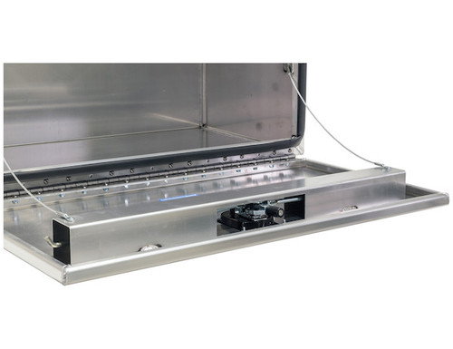 """1706425 BUYERS PRODUCTS XD SMOOTH ALUMINUM UNDERBODY TRUCK TOOLBOX 18""""HX24""""DX48""""W"""