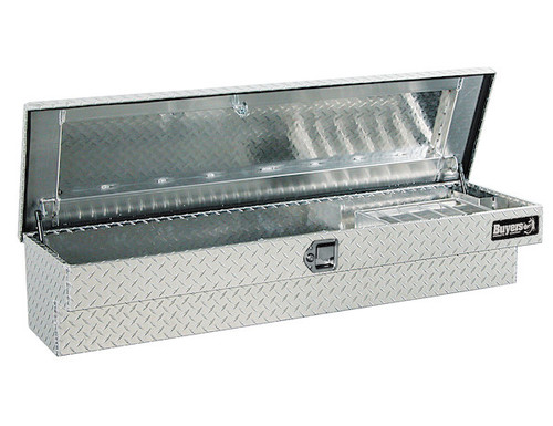 1711030 BUYERS PRODUCTS DIAMOND TREAD ALUMINUM LO-SIDER TRUCK TOOLBOX