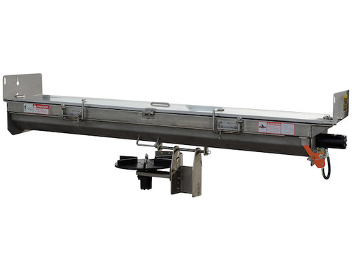 92428SSA BUYERS SALTDOGG HYDRAULIC UNDER TAILGATE STAINLESS STEEL SALT SPREADER