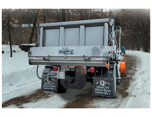 92441SSA BUYERS SALTDOGG STAINLESS STEEL ELECTRIC UNDER TAILGATE SALT SPREADER WITH CENTER DISCHARGE
