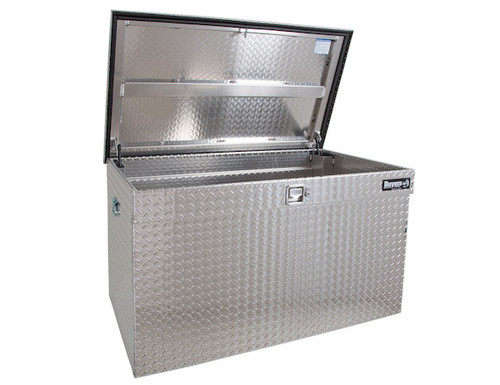 1712120 BUYERS DIAMOND TREAD ALUMINUM ALL-PURPOSE JUMBO CHEST TOOLBOX