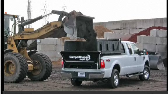 Ever thought about turning your pickup bed into a dump truck?