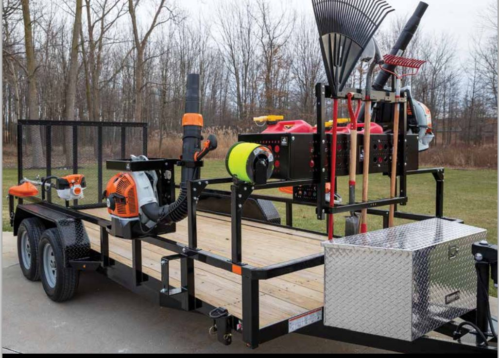 Buyers Products extends line of landscape trailer accessories