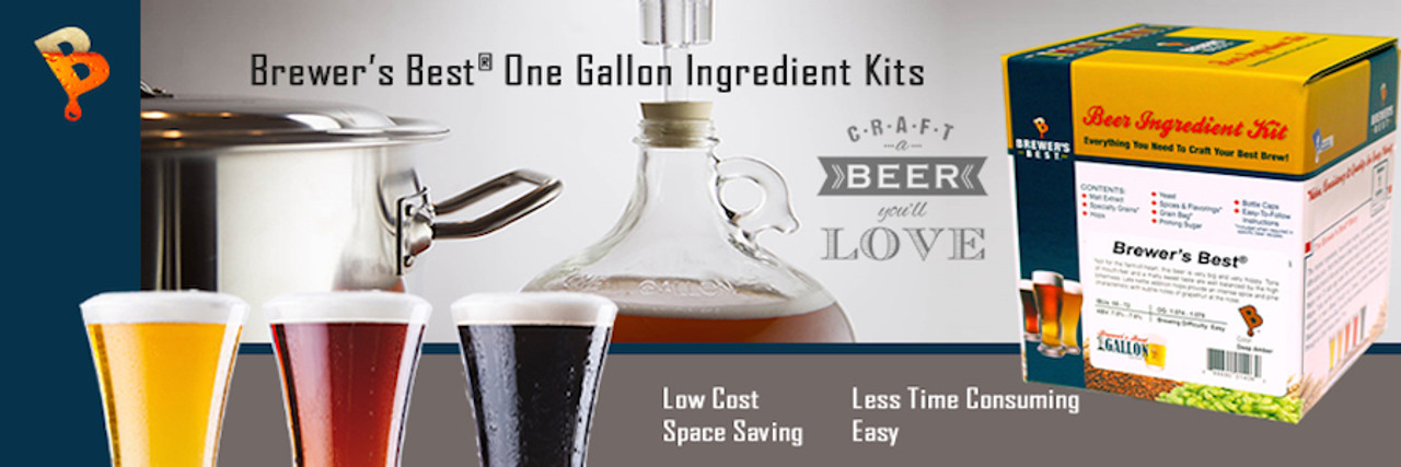 1 Gallon Beer Kits