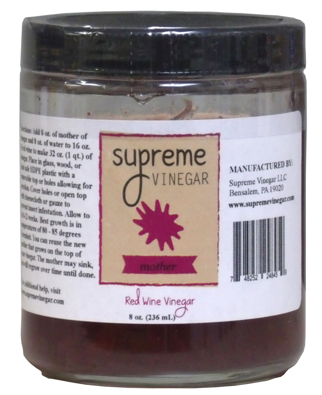 Supreme Red Wine Mother of Vinegar