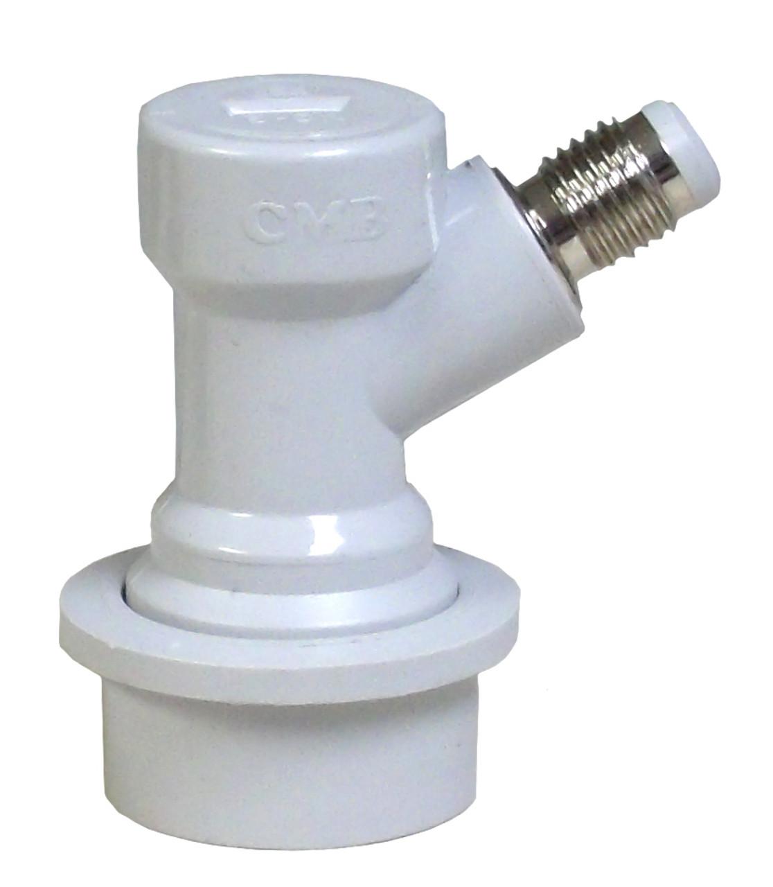 Ball Lock Gas Disconnect - Threaded
