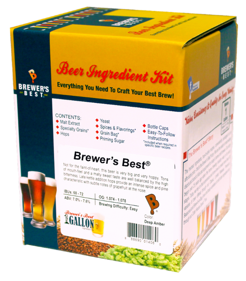 Brewer's Best Red Ale One Gallon Ingredient Kit