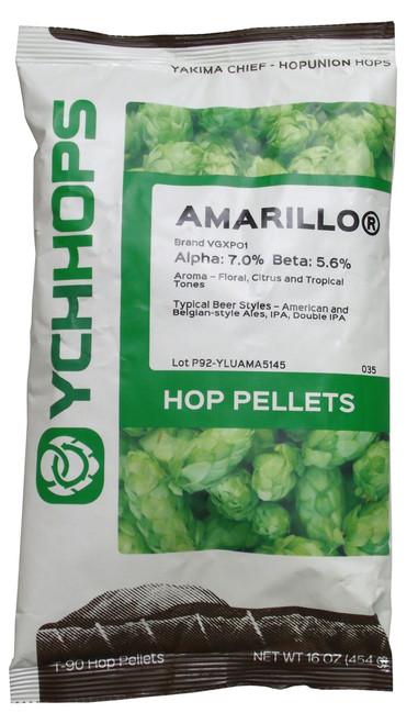 Amarillo Hop Pellet Package