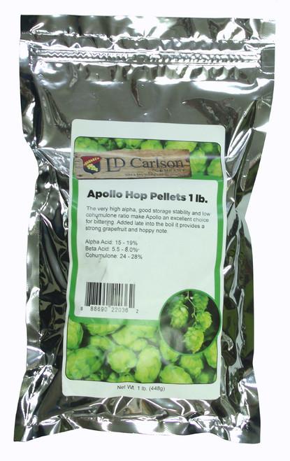 Apollo Hop Pellets 1 pound Bag