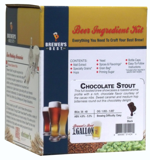 Brewer's Best Chocolate Stout 1 Gallon Kit