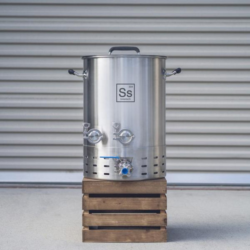 Ss Brewing Technologies 10 Gallon Brew Kettle Brewmaster Edition